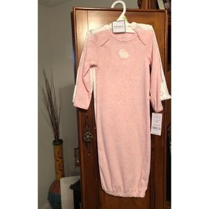 NWT Two pack of nightgowns from carters